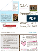 D.I.Y. Bootcamp Brochure 2011