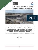 Estudio areas degradadas por rs talara