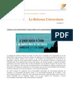 """ACTIVIDAD 4 ICSE """"La Reforma Universitaria"""""""