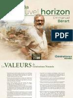GENERATIONS NC Nouméa Programme
