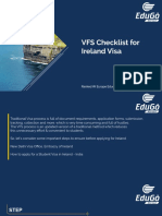 Ireland VFS Checklist By Edugo Abroad
