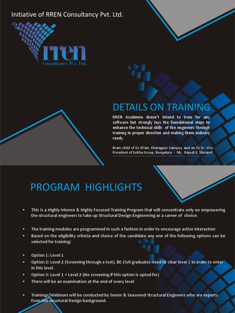 Rren Training Webinar Details Finite Element Method Engineering