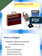 Budgeting- New