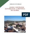 ETIMOLOGIA Y GENTILICIOS DE PUEBLOS DE CÁCERES
