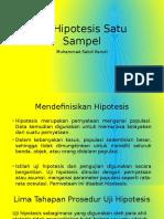 STATISTIK_AKUNTANSI C 2017_UJI HIPOTESIS_170221100056_Muhammad Sabili Kamdi
