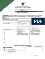 Sample-Audit-Program