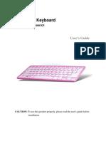 Bluetooth Keyboard User's Guide_Windows2000XP