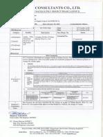 NJS Comments Sheet No. W1-0698