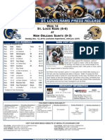 Week 14 - Rams at Saints