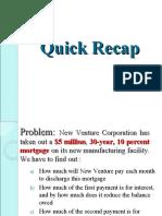 Quick Recap- Business Math