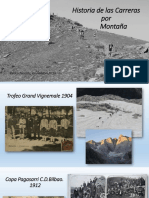 Historia Carreras de Montaña en España, desde 1912. Por Pedro Nicolas, presidente RSEA Peñalara