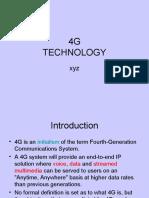 Ffinal Ppt on 4G