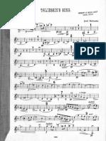 Taliessin's Song, Op.74 (Holbrooke, Joseph)_clarinet