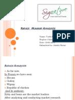 Presentation (Retail analysis) Week 2
