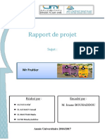 Business plan Mfruitier