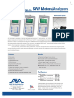 SWR Meters Data Sheet