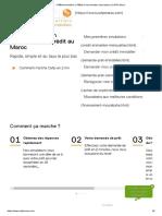 Crédit immobilier, Crédit Consommation, Mourabaha _ CAFPI Maroc