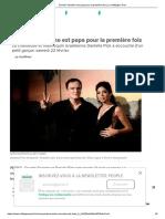 Quentin Tarantino est papa pour la première fois _ Le Huffington Post