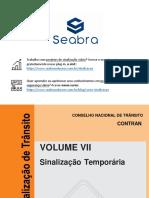 Manual de Sinalização Obras e Vias Publicas