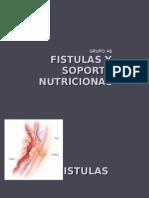 Fístulas y Soporte Nutricional. Grupo A8