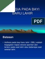 ASFIKSIA PADA BAYI BARU LAHIR (TAMBAHAN).ppt