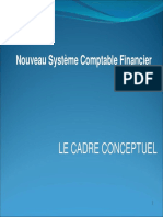 1- Le cadre conceptuel