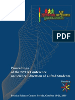 Proceedings of the NYEX Conference on Science Education of Gifted Students