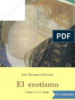 El erotismo - Lou AndreasSalome