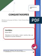 2020 MES 02 DIA 16 - E. CELULAS - CONQUISTADORES -  FERNANDO CARMONA