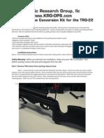 Aics Conversion Kit for Trg 22 Manual