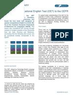 OET-CEFR-benchmarking