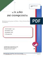 2020 MES 1 DIA 5 - E. CELULAS - UN AÑO DE CONQUISTA -  FERNANDO CARMONA