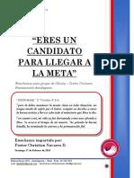 2019 MES 02 DIA 17 - E. CELULAS - ERES UN CANDIDATO PARA LLEGAR A LA META - PASTOR CHRISTIAN NAVARRO