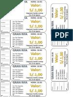 modelo rifa ticket