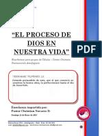 2019 MES 03 DIA24 - E. CELULAS -EL PROCESO DE DIOS EN NUESTRA VIDA- PASTOR CHRISTIAN NAVARRO