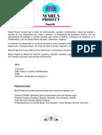 Marla Project-Press kit