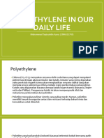 Polyethylene in our Daily Life