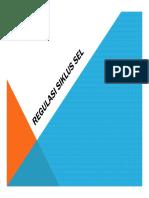 Microsoft PowerPoint - Regulator Siklus Sel