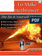 Expedient Homemade Flamethrowers