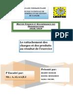 Le Rattachement des charges et des produits au résultat d-converti (1)