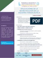 Programa académico_Aplicaciones de la Biotecnología en la Industria Farmacéutica