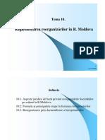 Procedura Reorganizarilor Din R.moldova