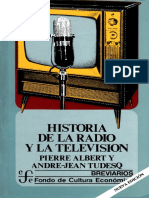 Pierre Albert y André-Jean Tudesq - Historia de La Radio Y La Television