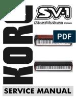 Korg -SV-1 service manual