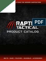 Raptor_Tactical_Catalog_2019