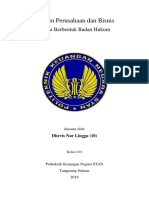 Badan Hukum Perusahaan