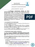 EDITAL 61.2020-Prograd- Sisu  3a. chamada -com anexo