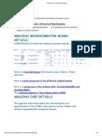 arduino-info - ArduinoChipDetails