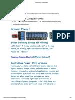 arduino-info - ArduinoPower.pdf