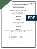 Etude et réalisation d'un four solaire.pdf